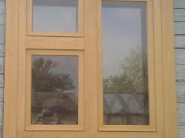 Двойные деревянные окна