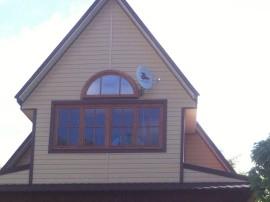 Верандные деревянные окна