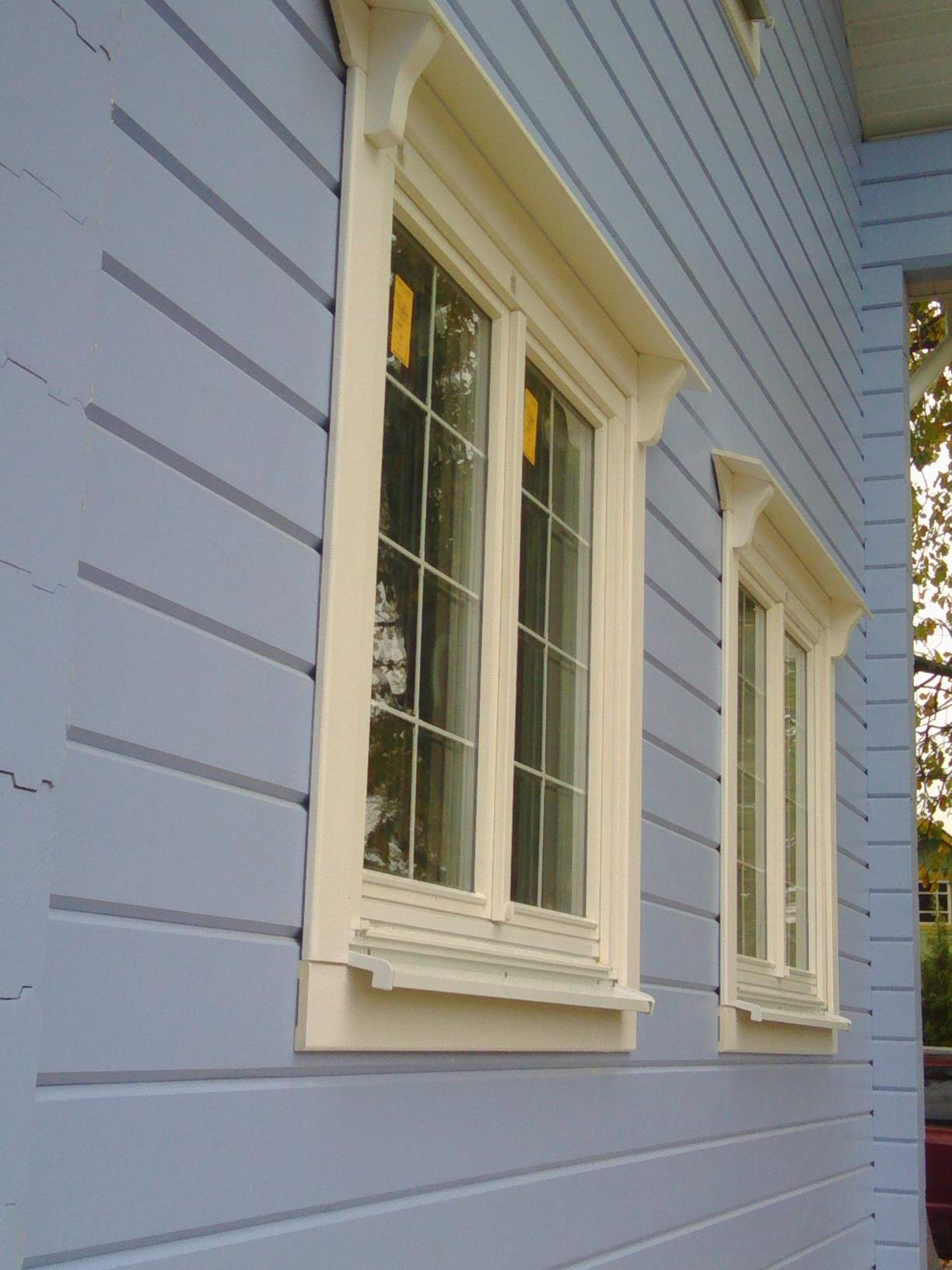 Деревянные окна со стеклопакетом