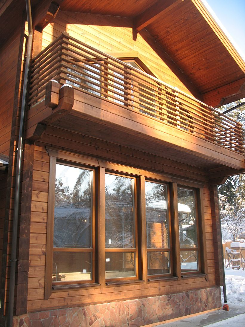 Купить деревянные евроокна классик, классические окна из дер.
